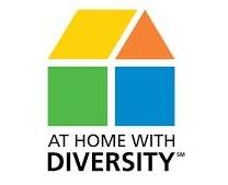 at home with diversity logo