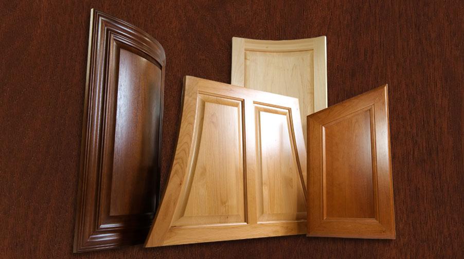Custom cabinet door group by TaylorCraft Cabinet Door Company