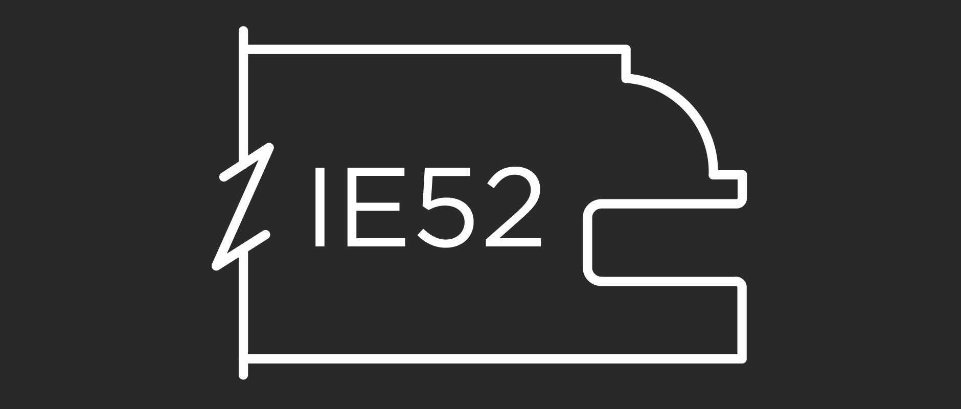 IE52 1-Inch Thick Inside Edge Profile