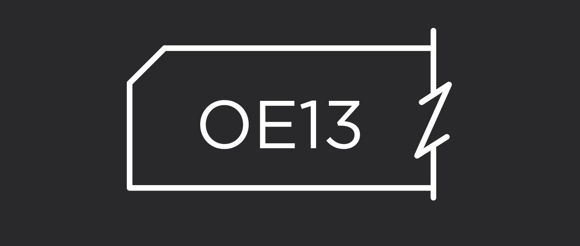 OE13 outside edge profile