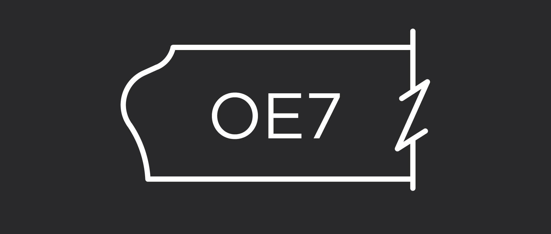 OE7 outside edge profile