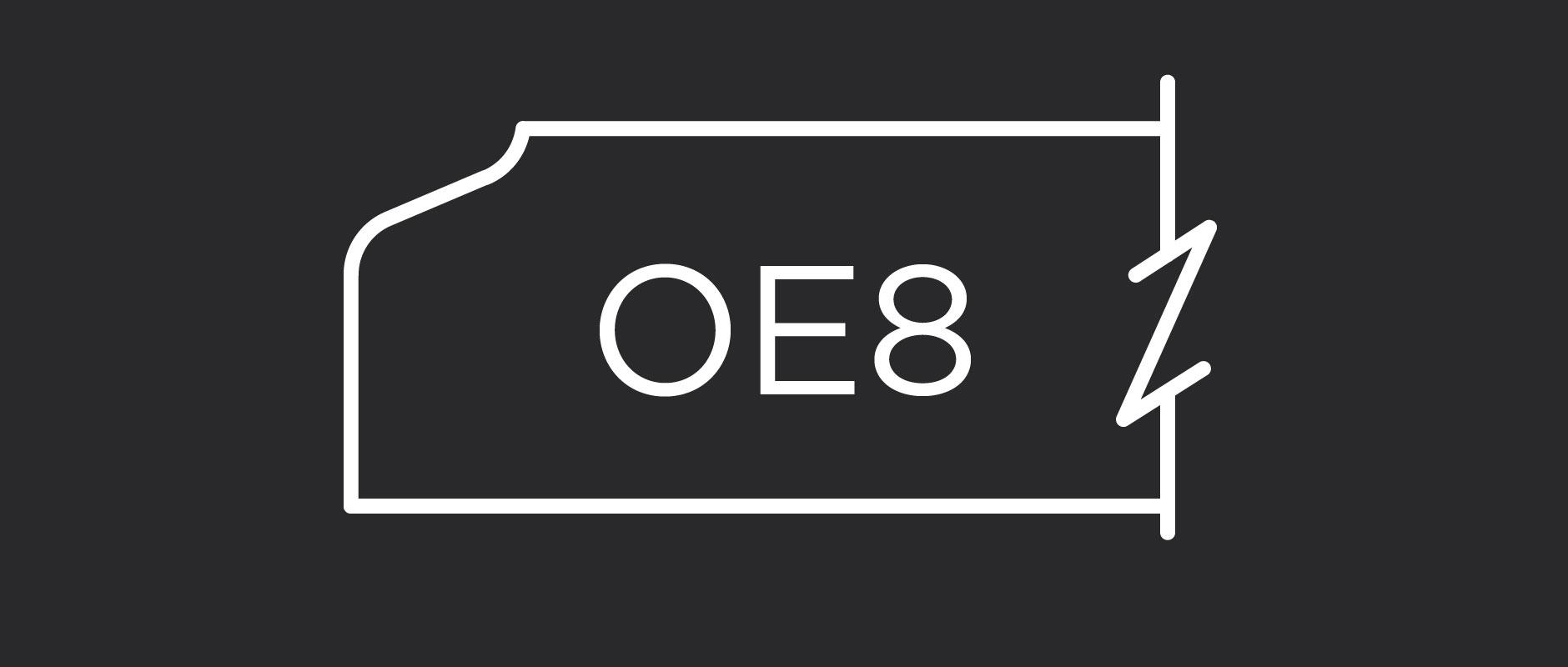 OE8 outside edge profile