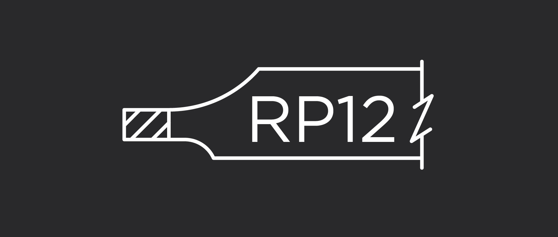 RP12 raised panel profile