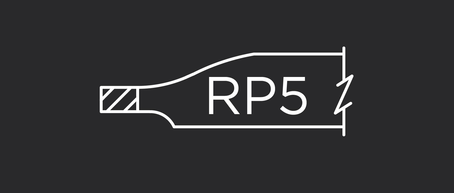 RP5 raised panel profile