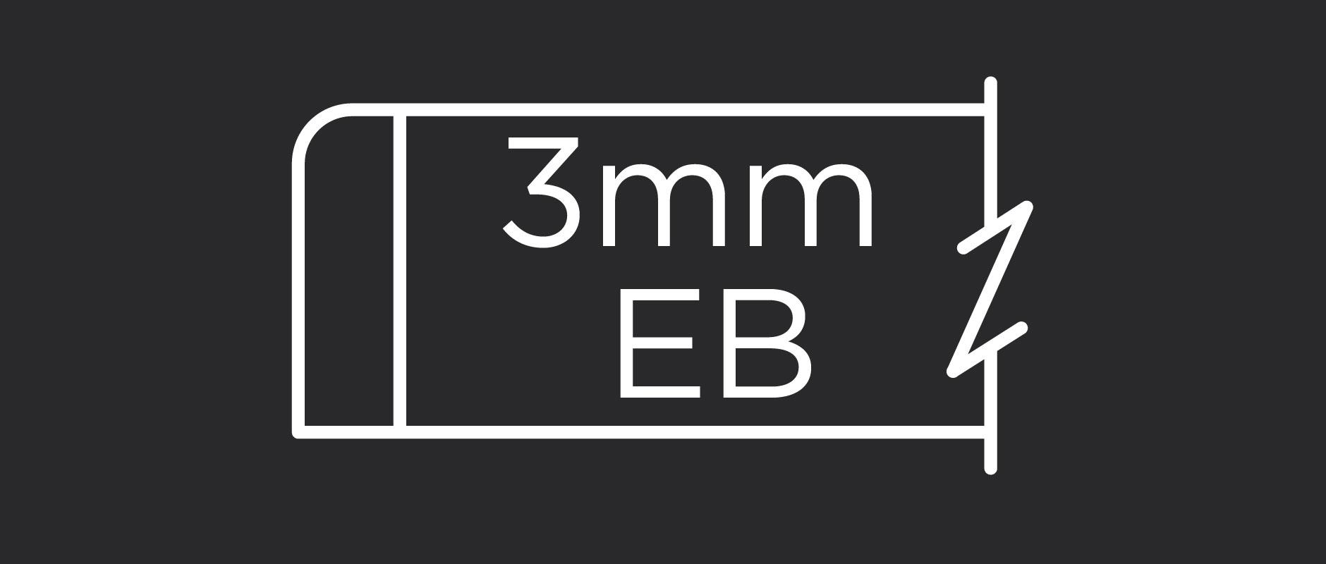 3mm edgeband profile for veneer