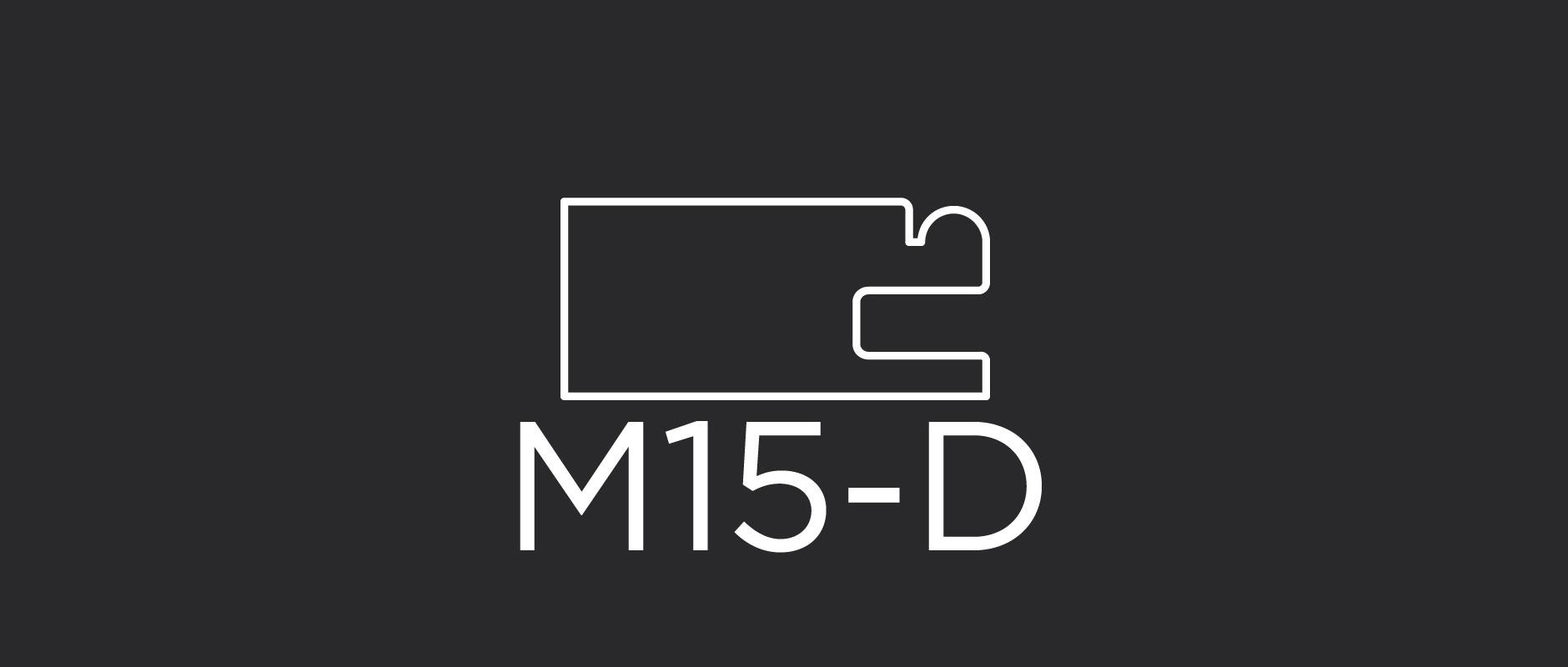 """M15-D mitered drawer front frame 1-5/8"""" wide"""