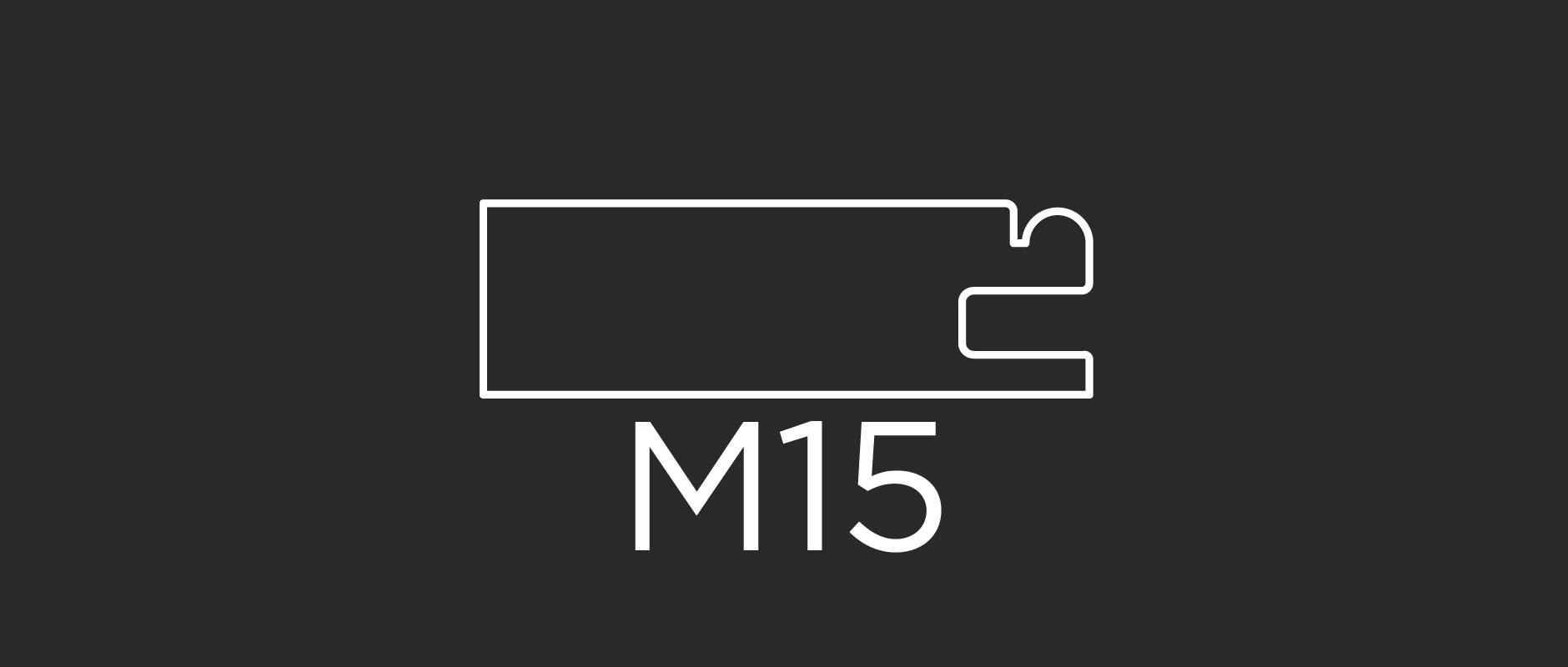 """M15 mitered door frame 2-3/8"""" wide"""