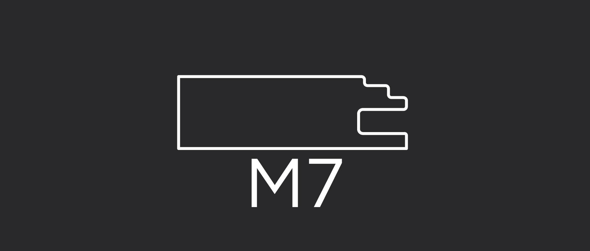 """M7 mitered door frame 2-3/8"""" wide"""