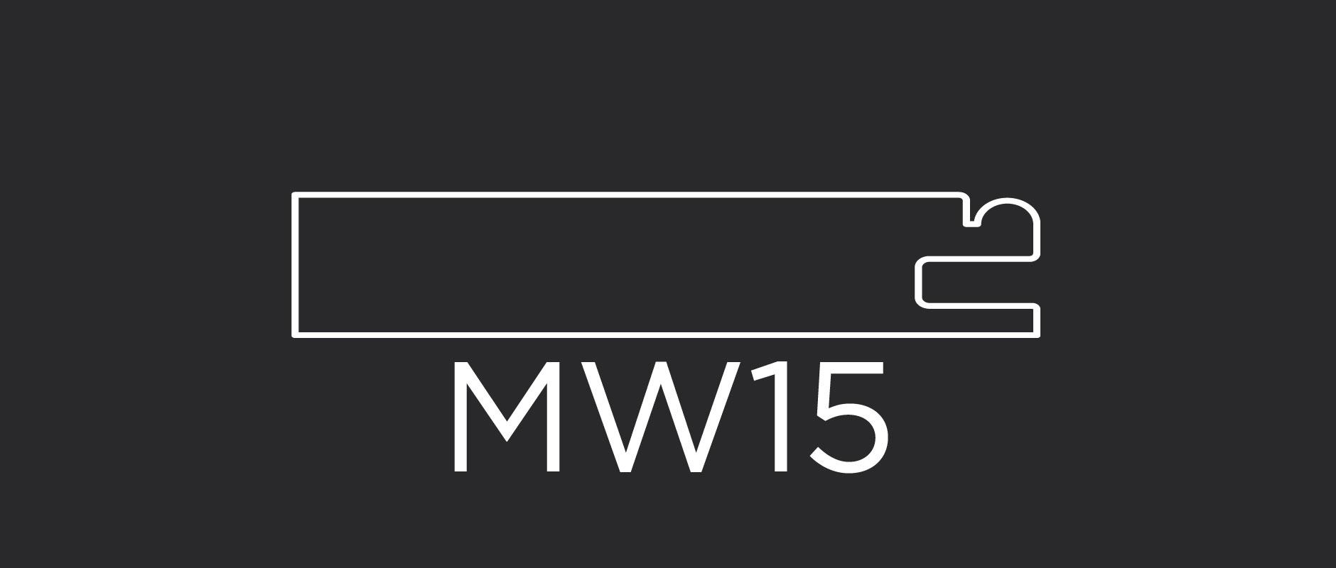 """MW15 mitered door frame 3-1/8"""" wide"""
