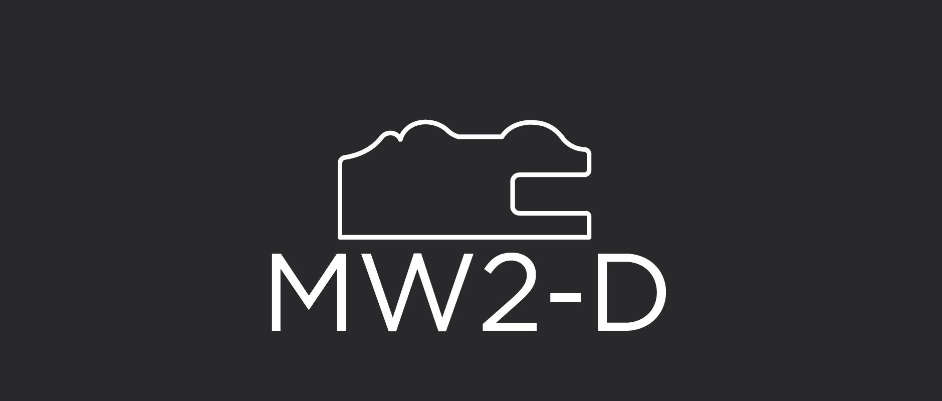 "MW2-D mitered drawer front frame 1-5/8"" wide"