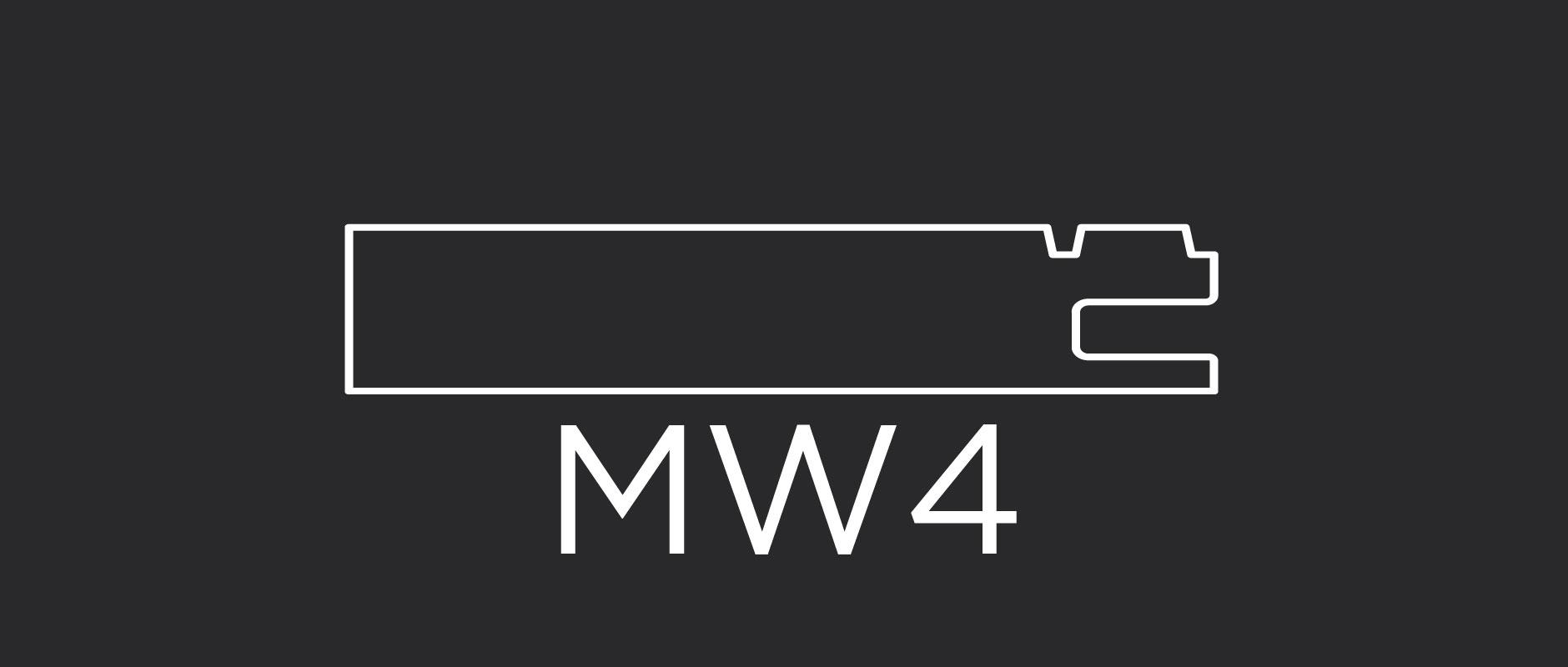 """MW4 mitered door frame 3-1/8"""" wide"""