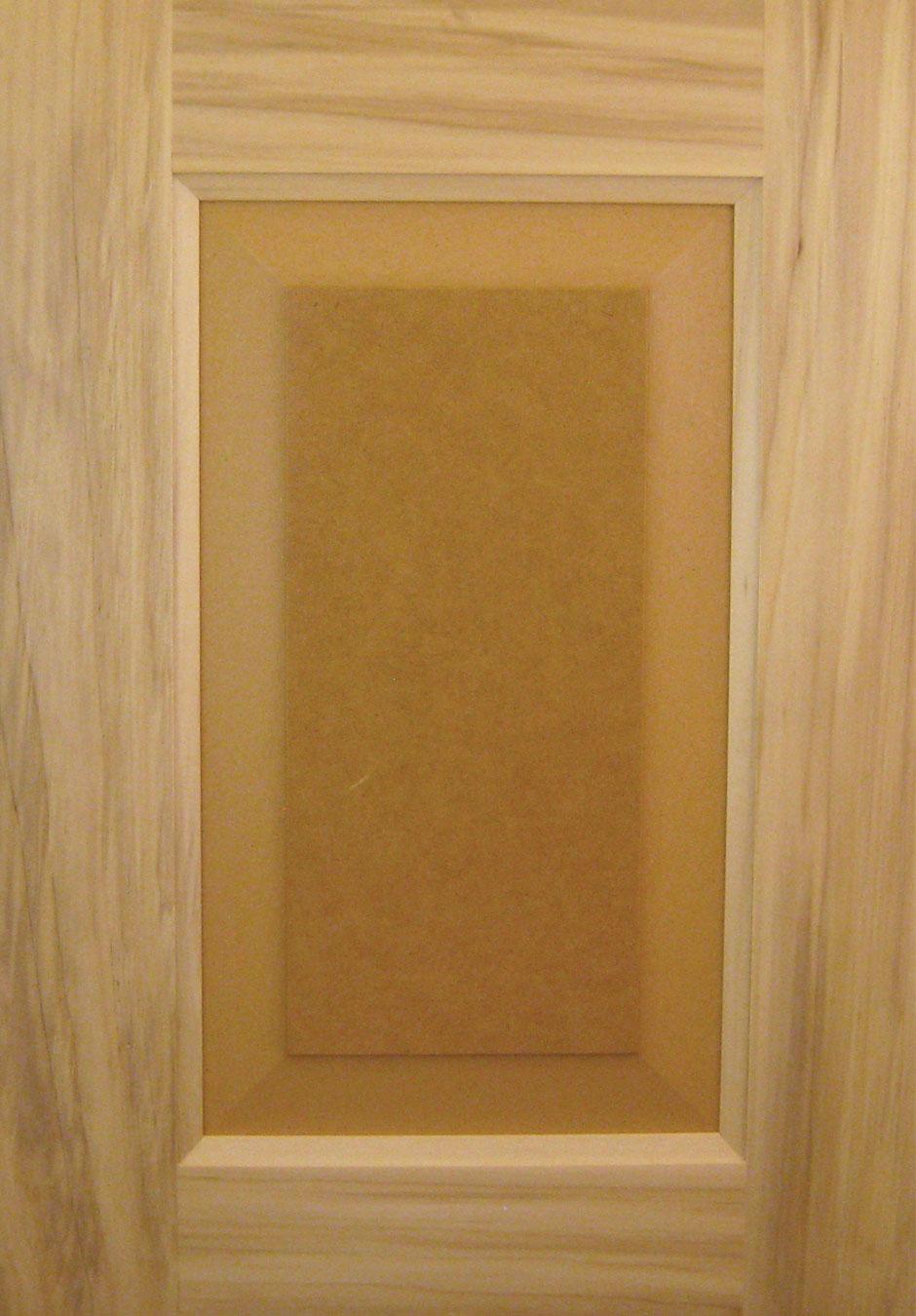Paint Grade Poplar Frame with MDF Panel