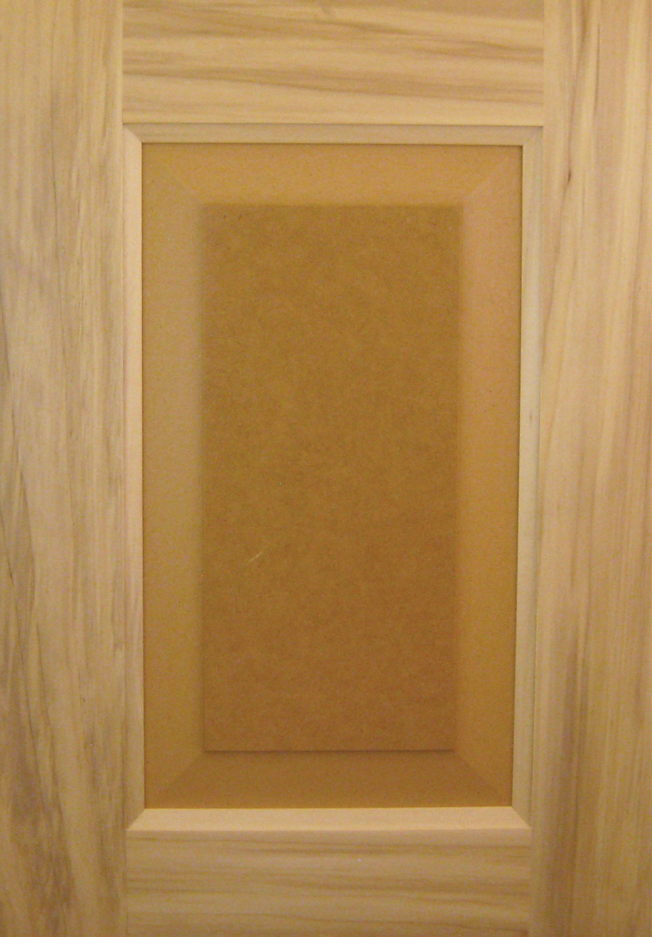 Poplar – Paint Grade with MDF Panel