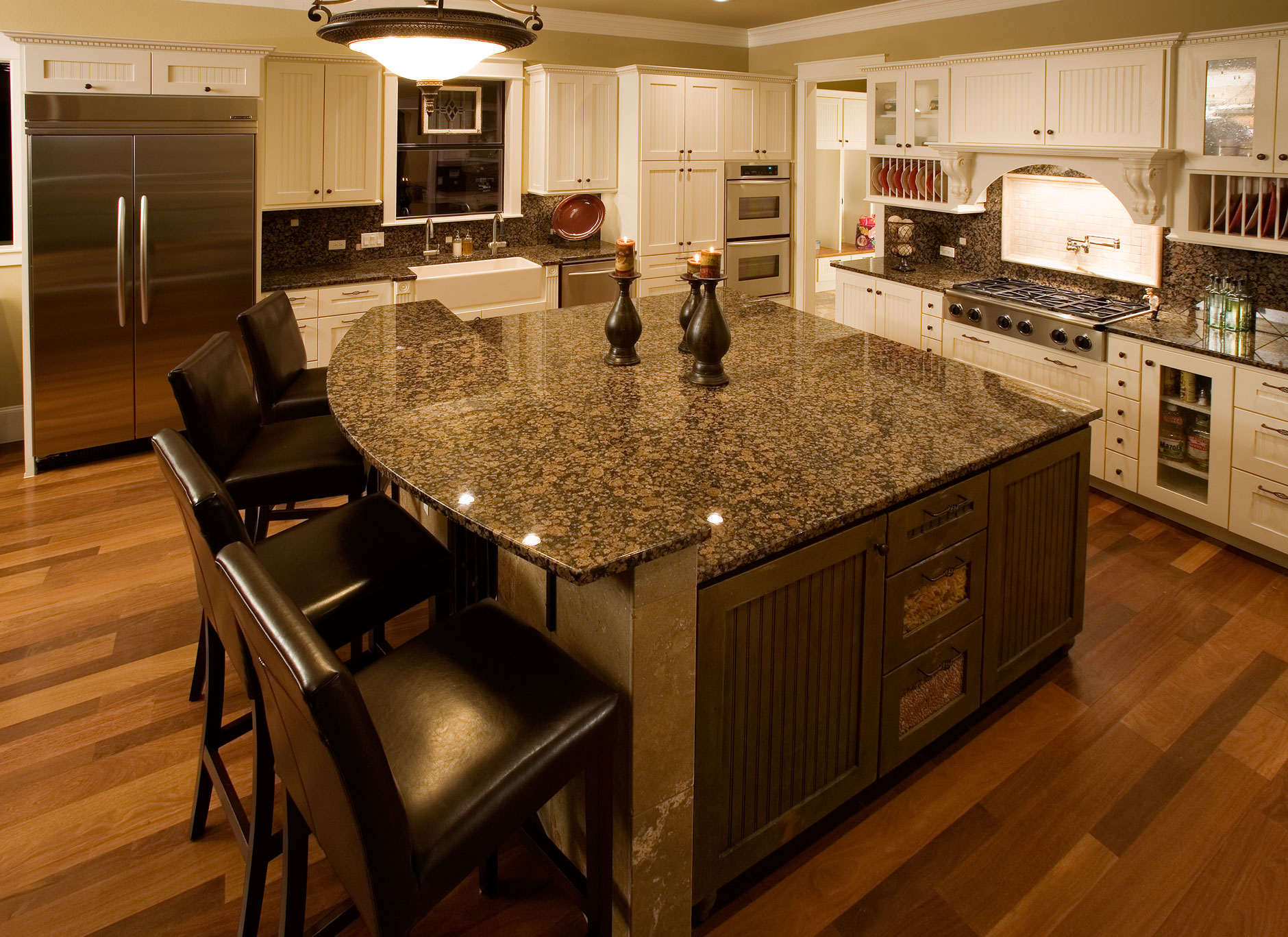 Kitchen Cabinet 7 C101 Wide - OE5, IE5, FP3/8 BD cabinet doors in Soft Maple, Paint Grade frame with MDF Panel
