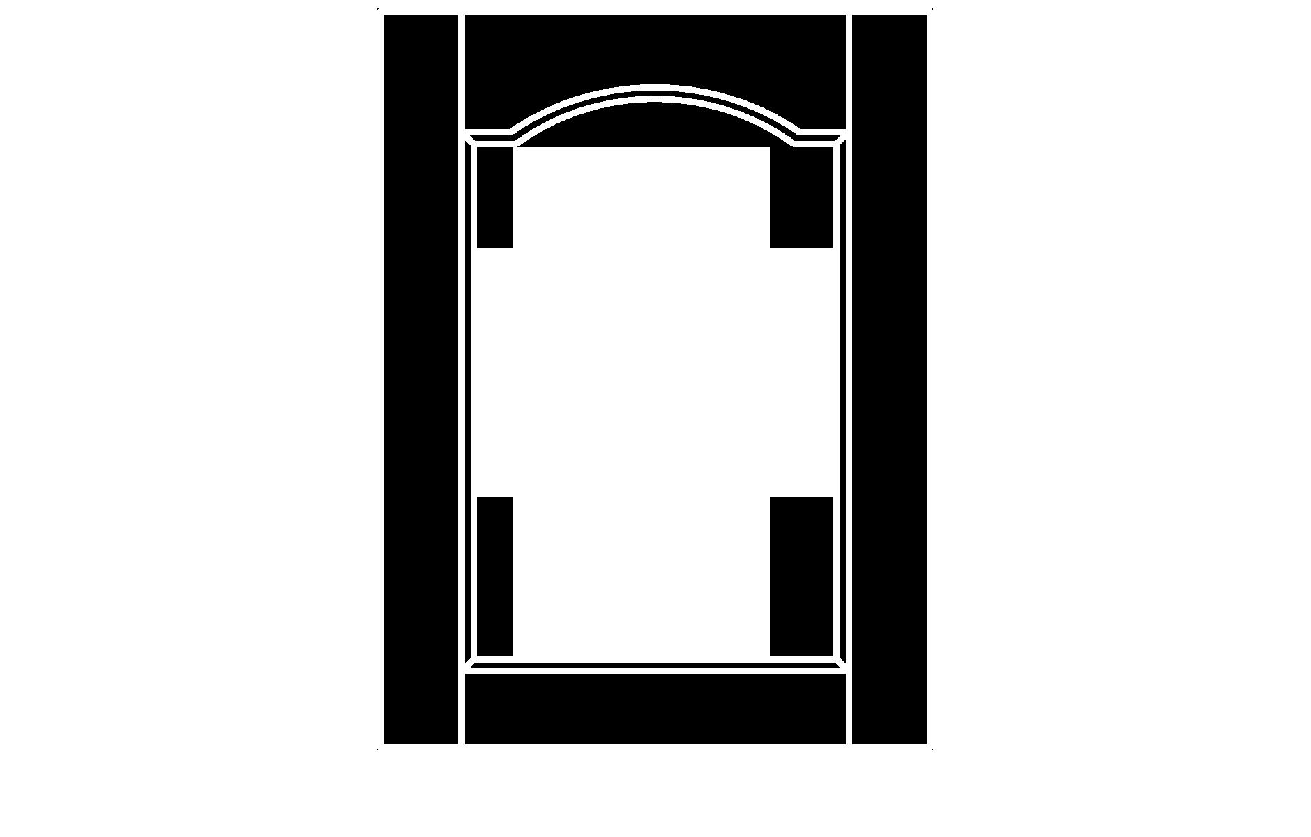 C103 cope and stick cabinet door configuration