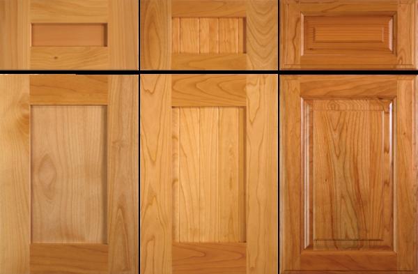 Alder Cabinet Door And New Versus 2 Year Old Cherry Cabinet Door