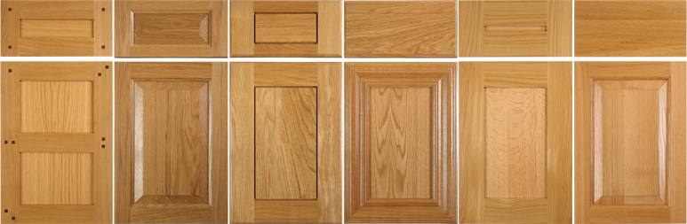 TaylorCraft Cabinet Door Company White Oak and Rift White Oak doors
