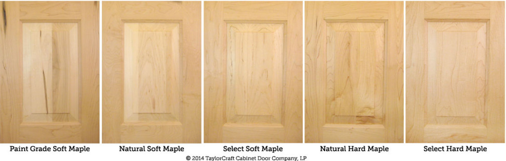 Differences Between Hard Maple And Soft Maple Kitchen Cabinet Doors