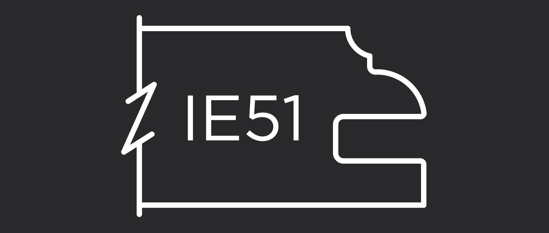 IE51 – 1″ Thick