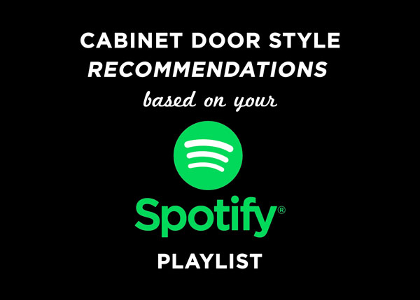 Cabinet Door Style Recommendations based on Spotify Playlist