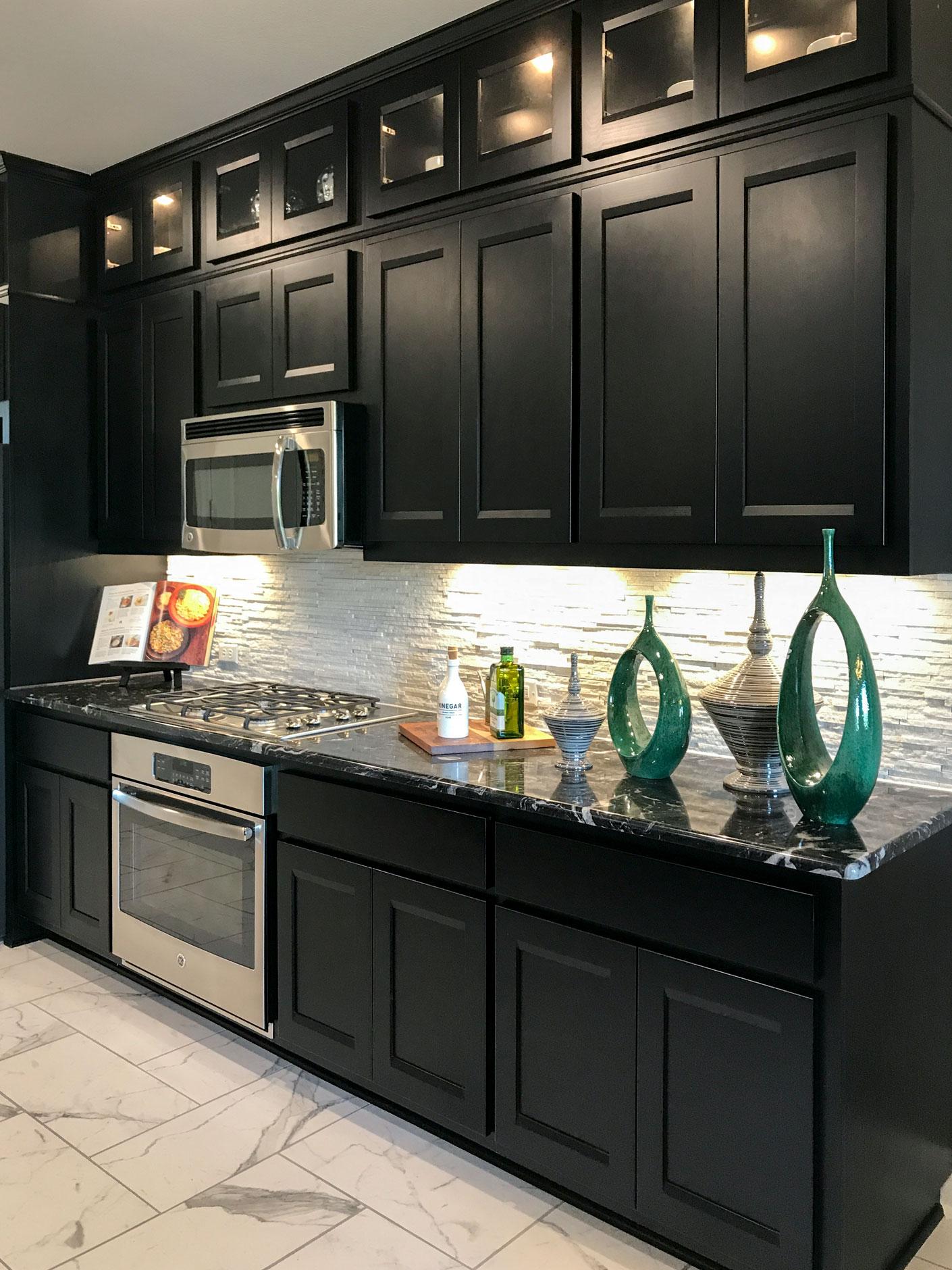 Black Kitchen Cabinets Taylorcraft