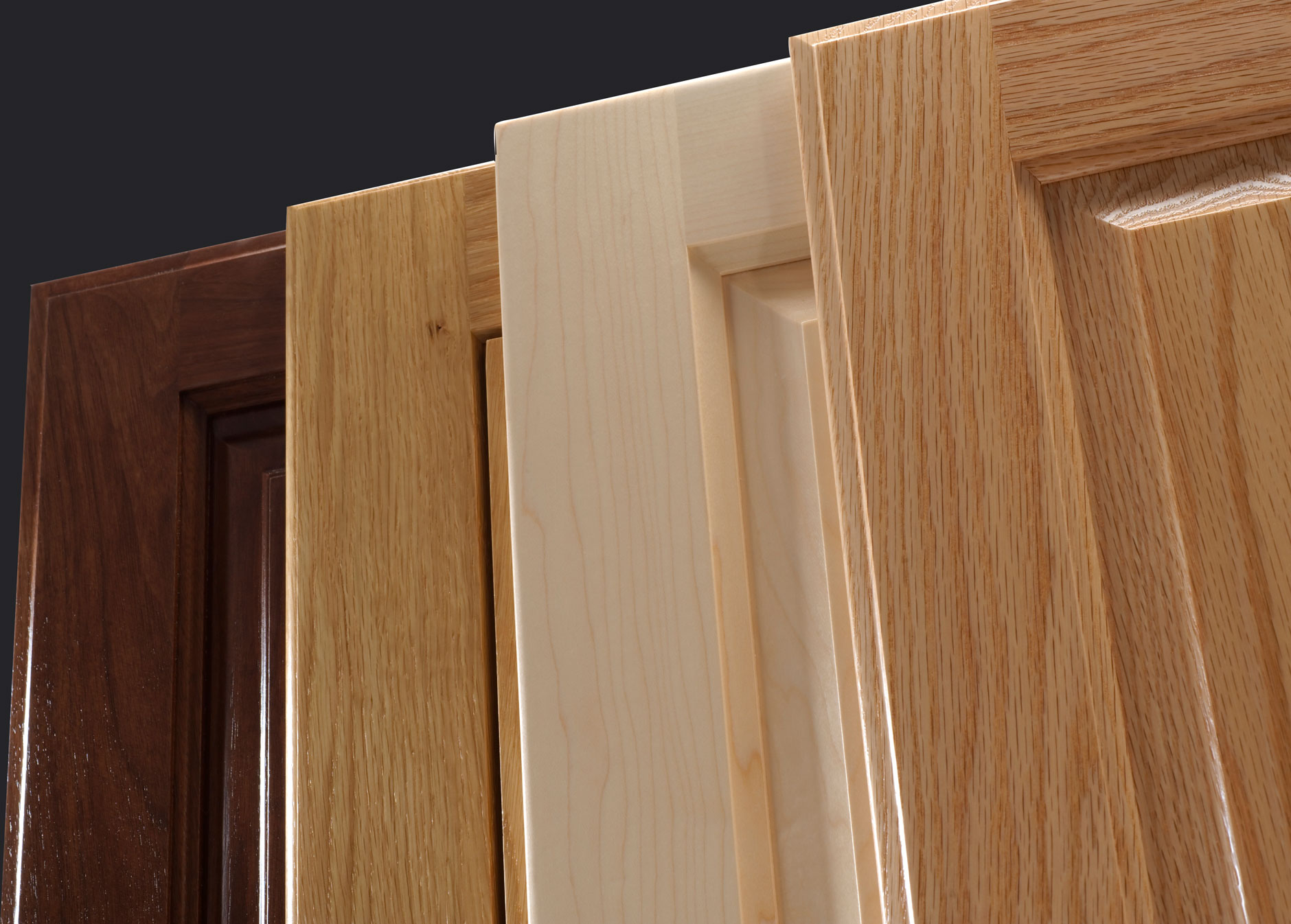 4 cope and stick raised panel cabinet doors by TaylorCraft Cabinet Door Company