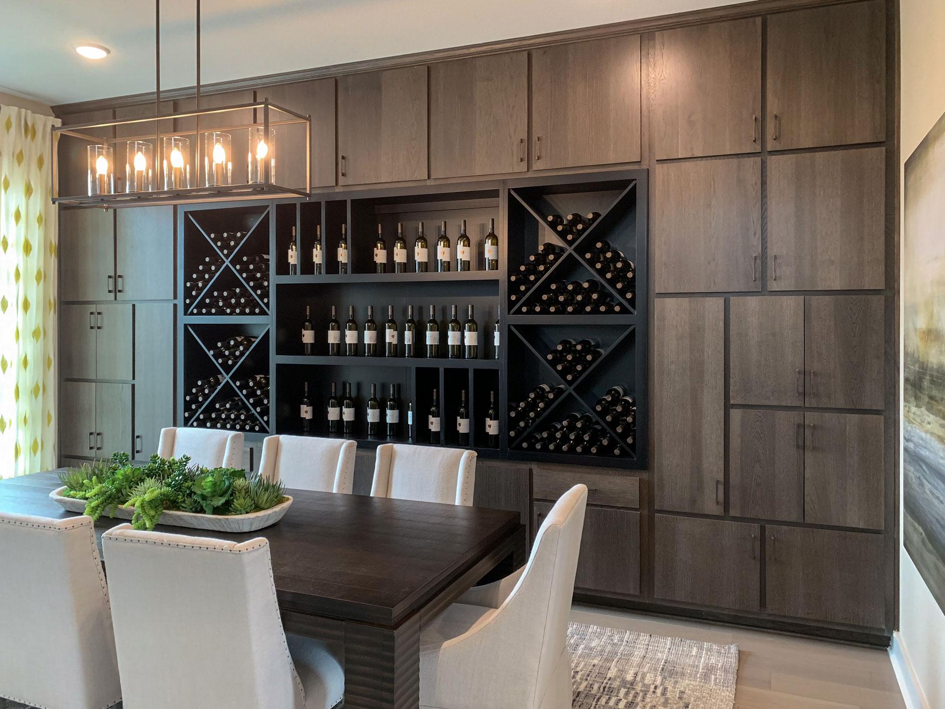 Dining Hutch Wine Storage