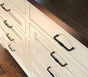 flush inset dresser drawer fronts