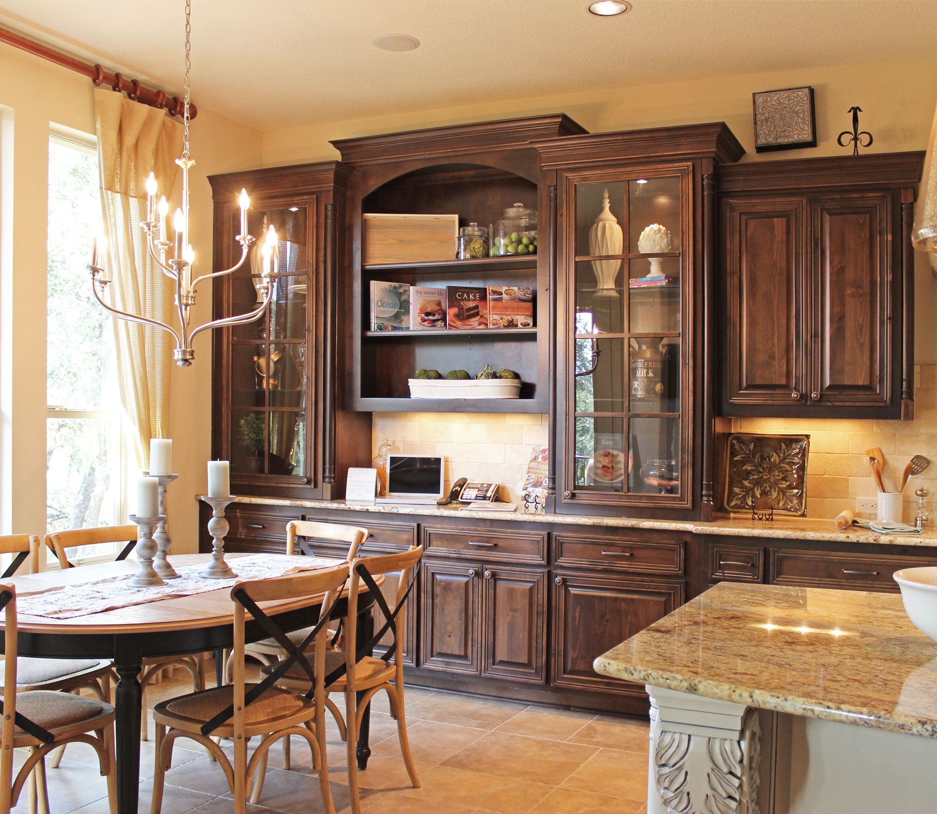 Built-In Hutch and Butler's Pantry Inspiration