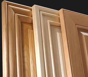 TaylorCraft Cabinet Door Company mitered raised panel cabinet doors