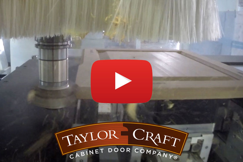 TaylorCraft Offers Look Inside Cutting Edge Cabinet Door Making Facility