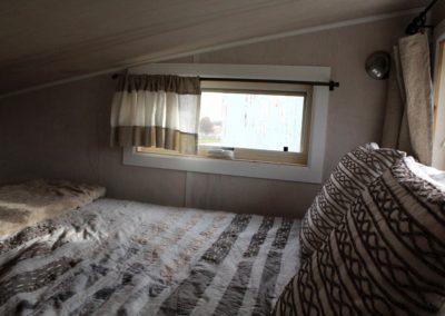 Bedroom windows.