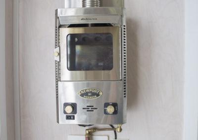 Dickinson Marine Newport 12000 furnace (the tiny fireplace heater).