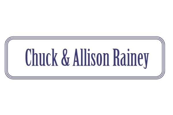 Chuck and Allison Rainey
