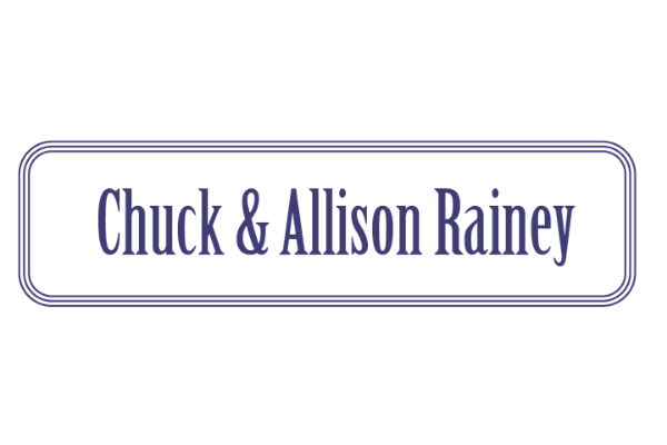 Chuck and Allison Rainey