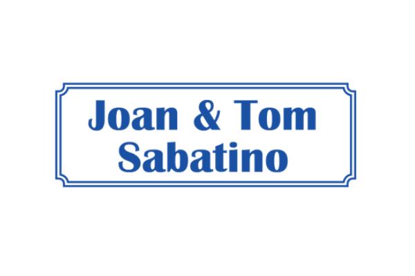Joan and Tom Sabatino