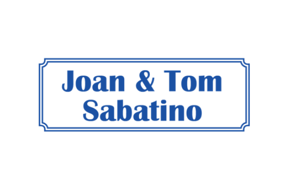 Joan and Tom Sabatino