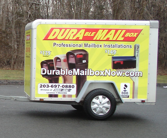 Durable Mailbox Installation Trailor