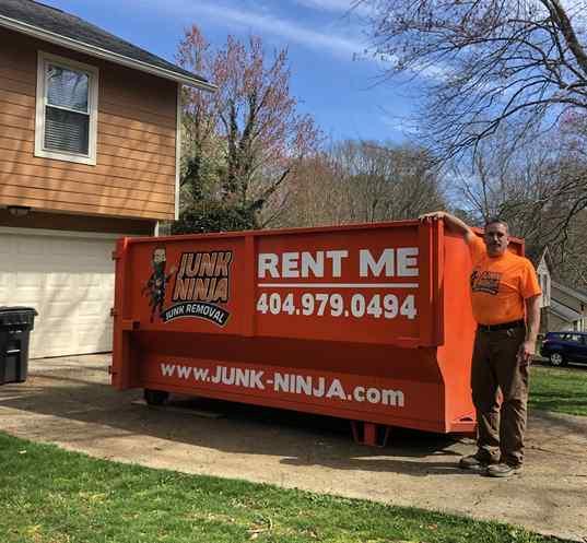 Junk Removal Kennesaw-Dumpster rental