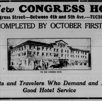 100 Years of Hotel Congress, Pinnacle Award to DTP, Tree Lighting Update