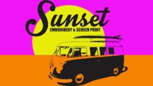 Sunset Screenprint