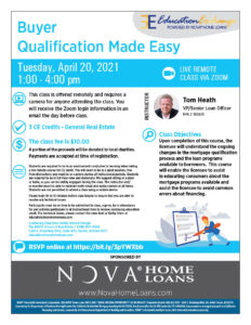 Buyer Qualification Made Easy