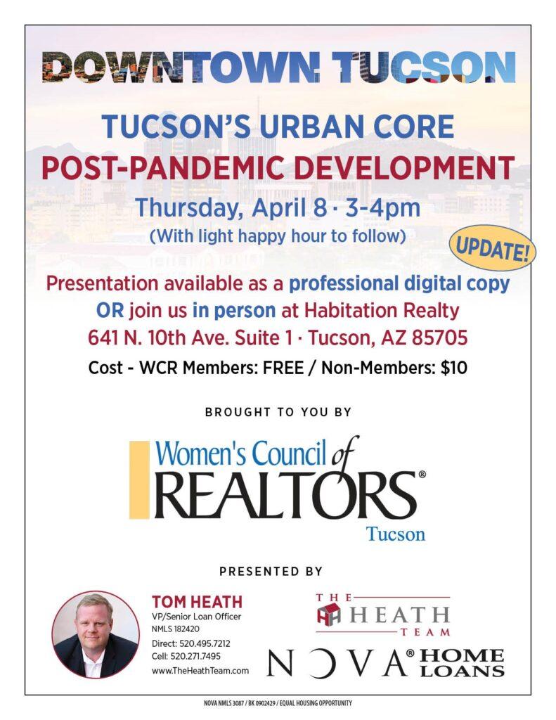 Downtown Tucson Post-Pandemic Economic Development Presentation