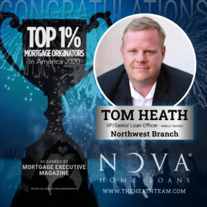 Trust Your Home Loan with the Heath Team - A Top 1% Mortgage Originator