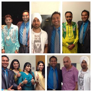 Diljit and Gurdeep