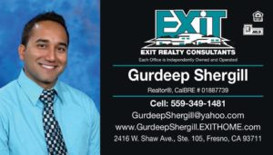 SHERGILL Real Estate Card