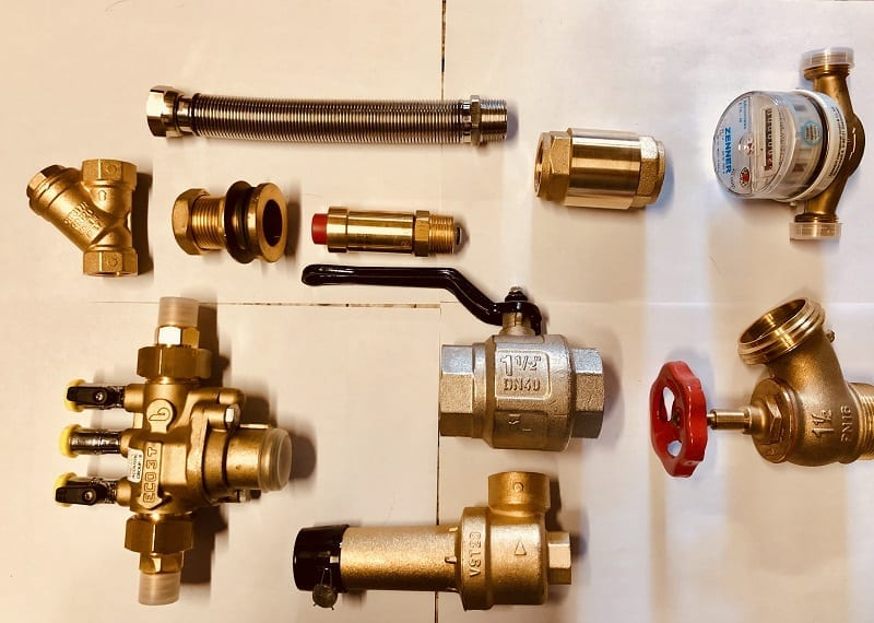valves used in plumbing systems