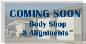 Coming Soon Body Shop