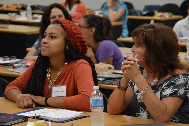 Students engaged in Passports to Success Workshop - eddienashfoundation.org