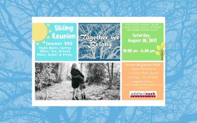 Postponed! August 10, 2019 | Sibling Reunion Event